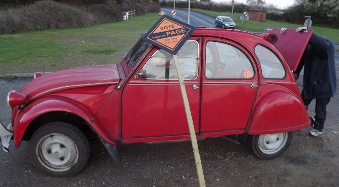 Woodbridge campaign reaches top gear..