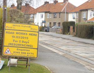 Waerwick Avenue resurfacing is finally taking place!