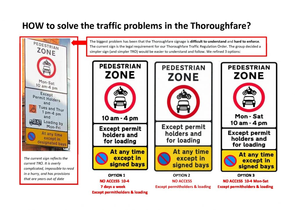 thumbnail of Thoroughfare Consultation 2017 Sign Options