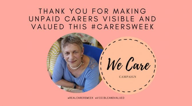 Forget Carers Week – nobody cares